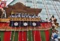 京都新聞写真コンテスト 舟鉾が動く