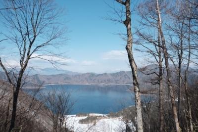 竜ヶ岳からの本栖湖