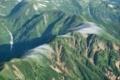 双六岳に通じる西鎌尾根