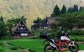 [KTM][690DUKE][五箇山][相倉合掌集落][バイクのある風景]五箇山