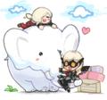 [マビノギ]ゾウさんにメロメロ!