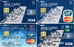 ANA VISA/Master/Suica/TOP&ClubQ
