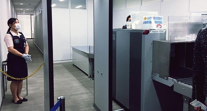 ANA PREMIUM CHECK-IN内の優先保安検査場