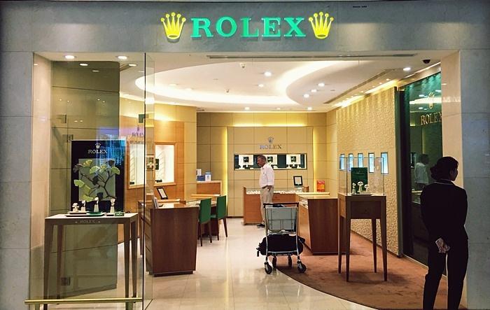 空港免税店のROLEX