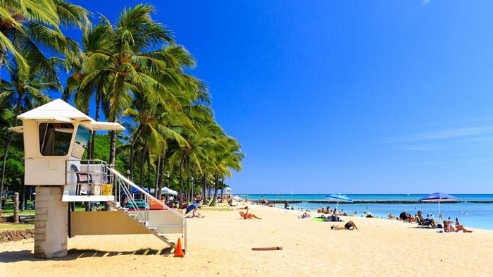 特典航空券で行くハワイ