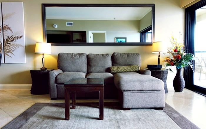 ペントハウスのソファベッド