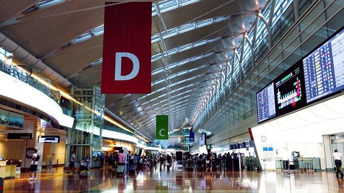 羽田空港第2ターミナル南側