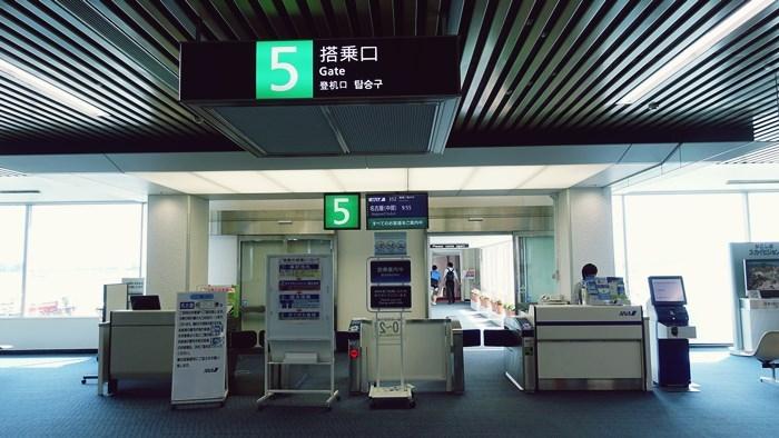 鹿児島空港5番搭乗口