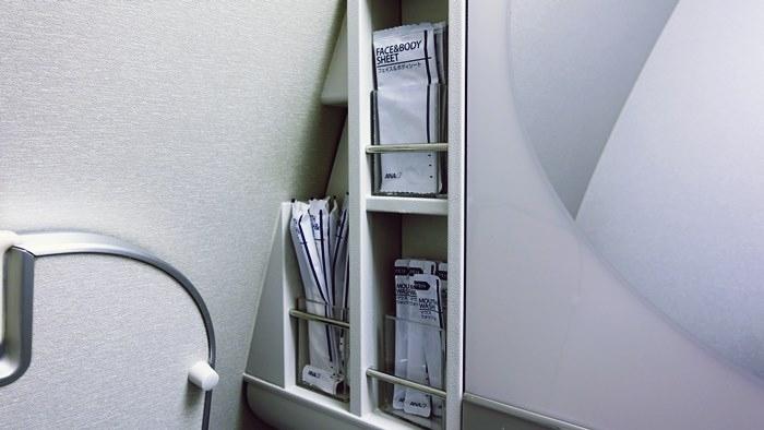 トイレ内のアメニティ