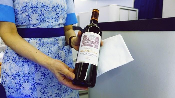 2杯目から赤ワイン