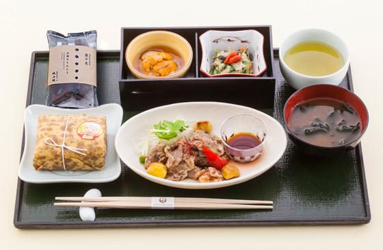 JALファーストクラスの機内食