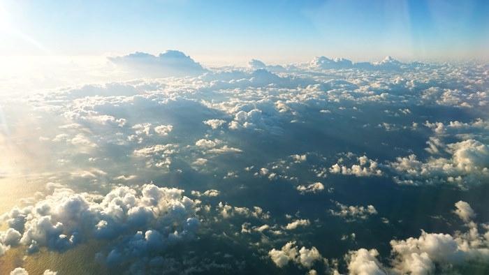 太平洋上の雲海