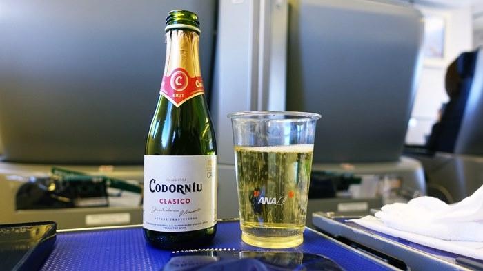 飲み放題のアルコールにはスパークリングワインも