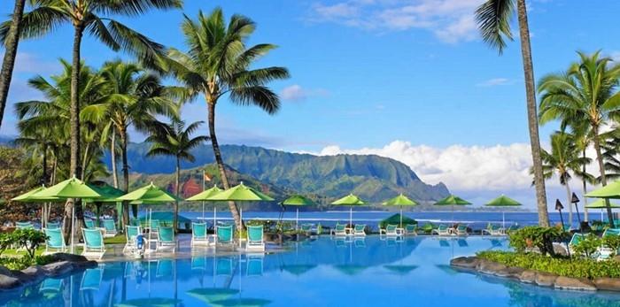 ハワイ・カウアイ島のセントレジス・プリンスヴィル・リゾート