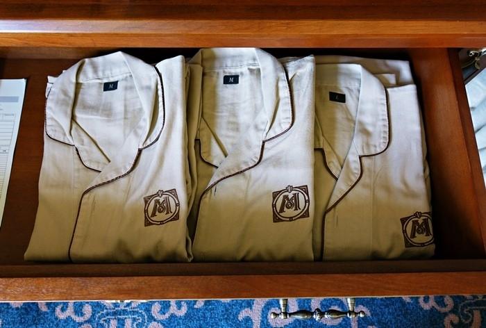 ホテルミラコスタのパジャマ
