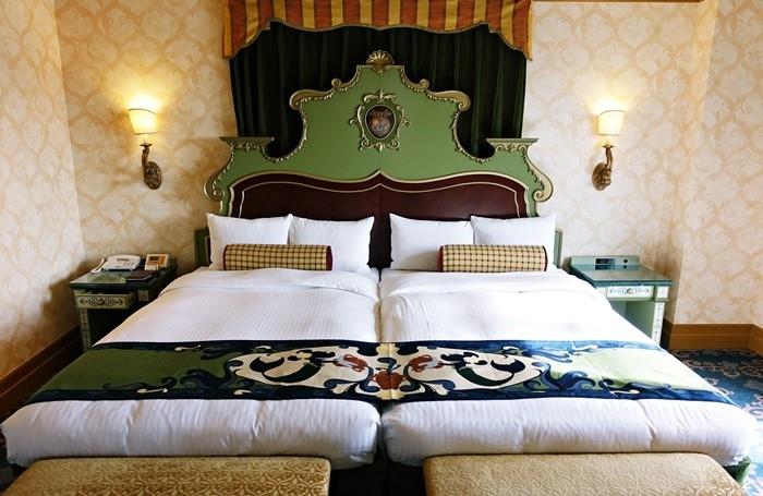 ホテルミラコスタのベッド