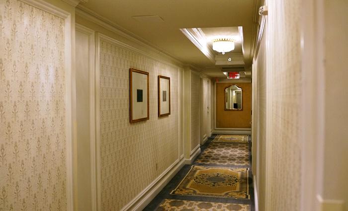 ザ・リッツ・カールトン・ニューヨーク・セントラルパークの廊下