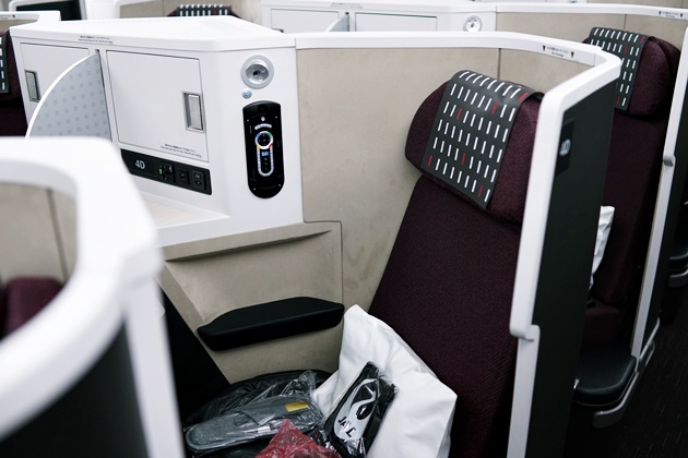 JAL SKY SUITEⅢのシート