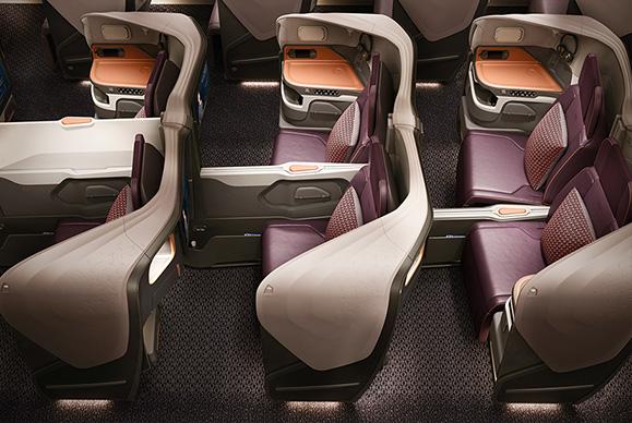 新型A380のビジネスクラス