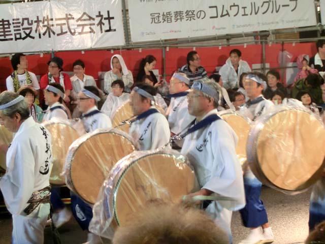 高円寺阿波踊りの写真