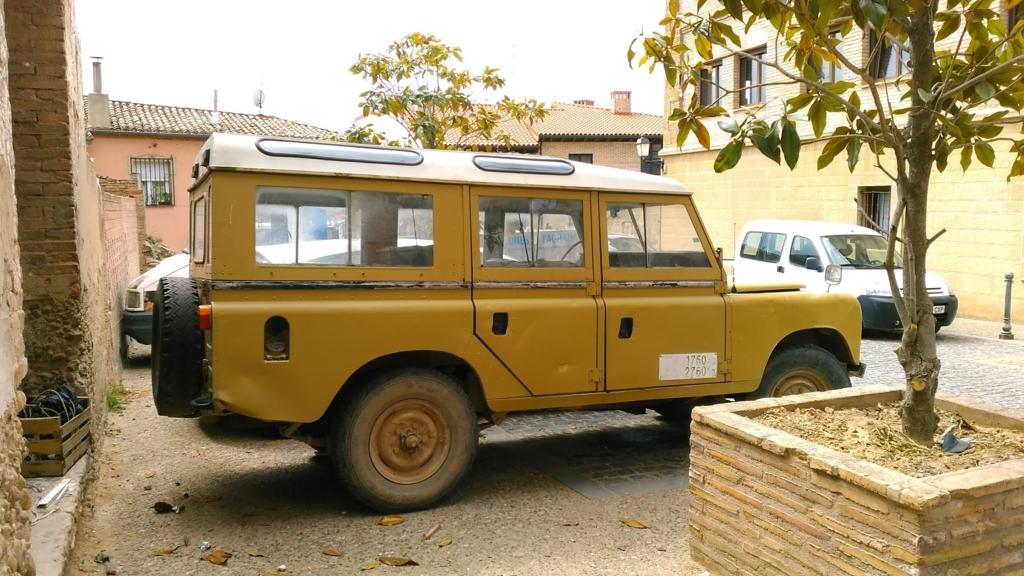 Land Rover Santana|ナバレテ Navarrete|caminodesantiago|カミーノデサンティアゴ|星の巡礼|スペイン|spain|小堺建築研究所|福岡の建築設計事務所