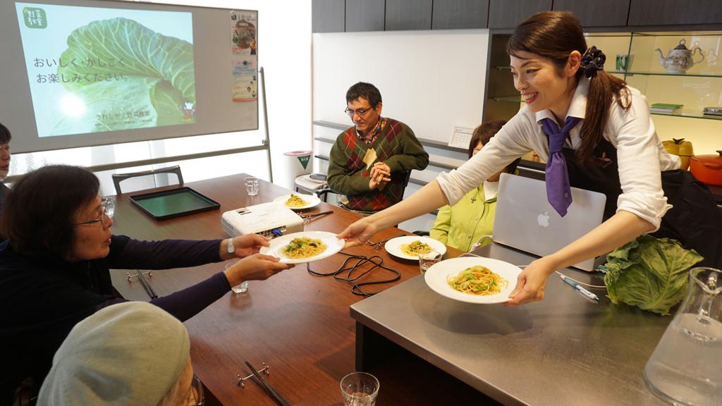 野菜教室:できたてです!【適材適食】小園亜由美(管理栄養士・野菜ソムリエ上級プロ)