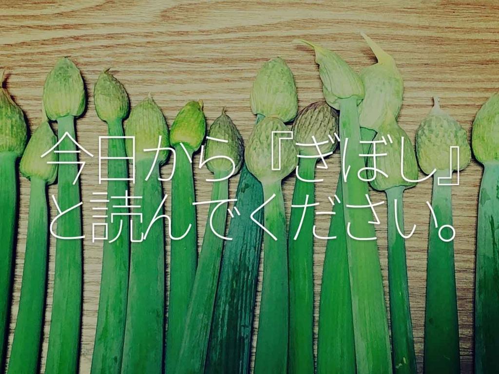 今日から『ぎぼし』と読んでください。【適材適食】小園亜由美(管理栄養士・野菜ソムリエ上級プロ)