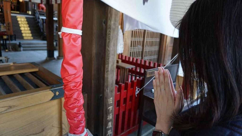 博多どんたく2018:櫛田神社、ご挨拶中。【適材適食】小園亜由美(管理栄養士・野菜ソムリエ上級プロ)