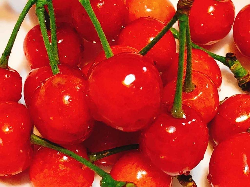 さくらンボの種は食べないようにしましょう!【適材適食】小園亜由美(管理栄養士・野菜ソムリエ上級プロ)
