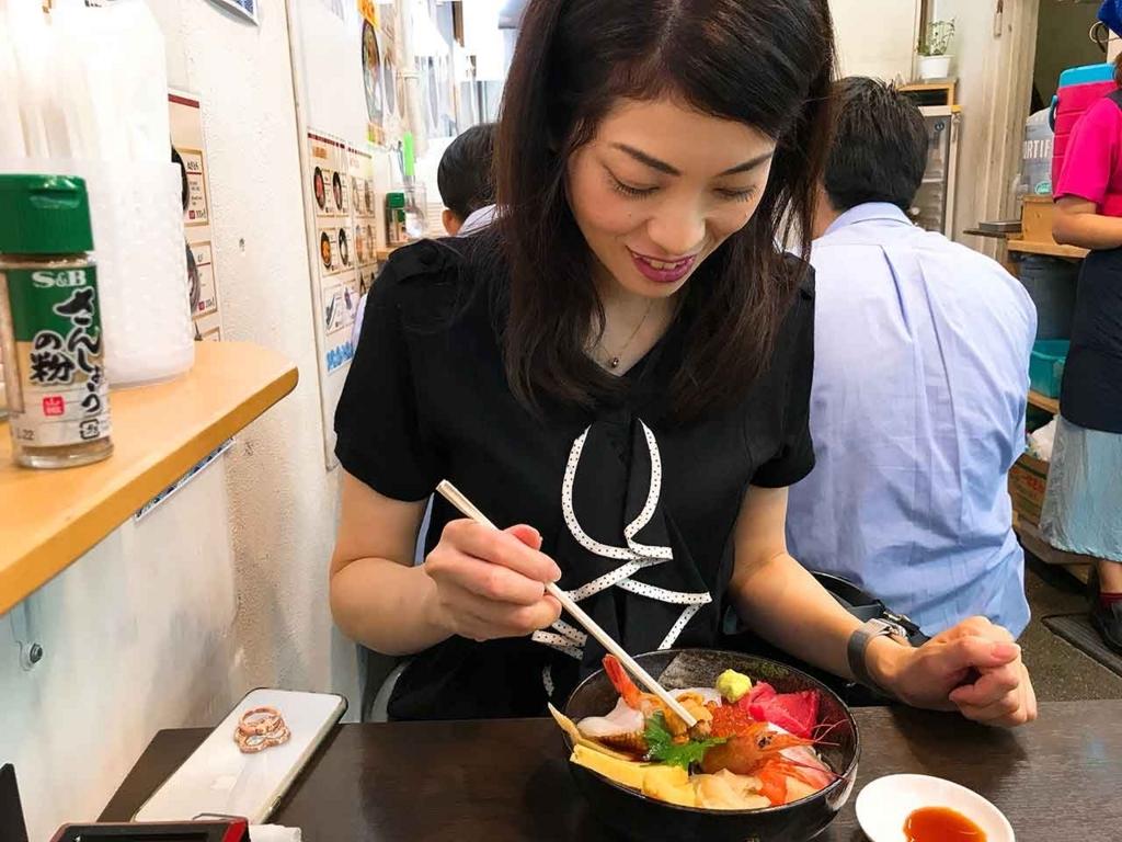 おまかせ丼、頂きます【適材適食】小園亜由美(管理栄養士・野菜ソムリエ上級プロ)