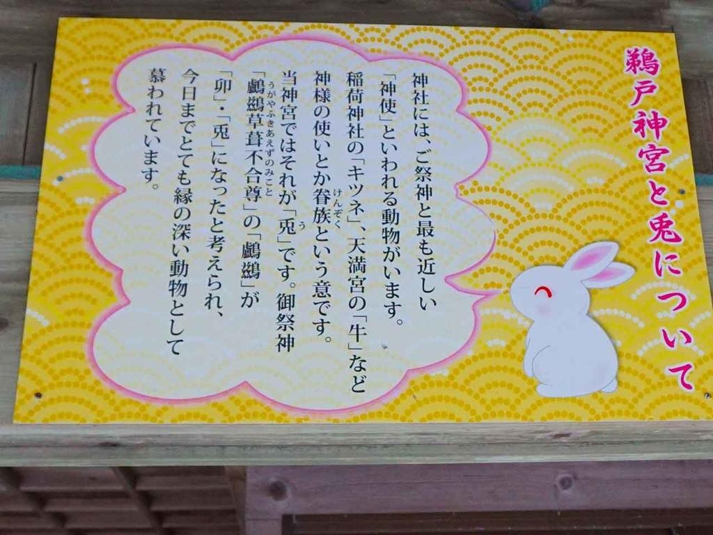 うさぎ@鵜戸神社【適材適食】小園亜由美(管理栄養士・野菜ソムリエ上級プロ)