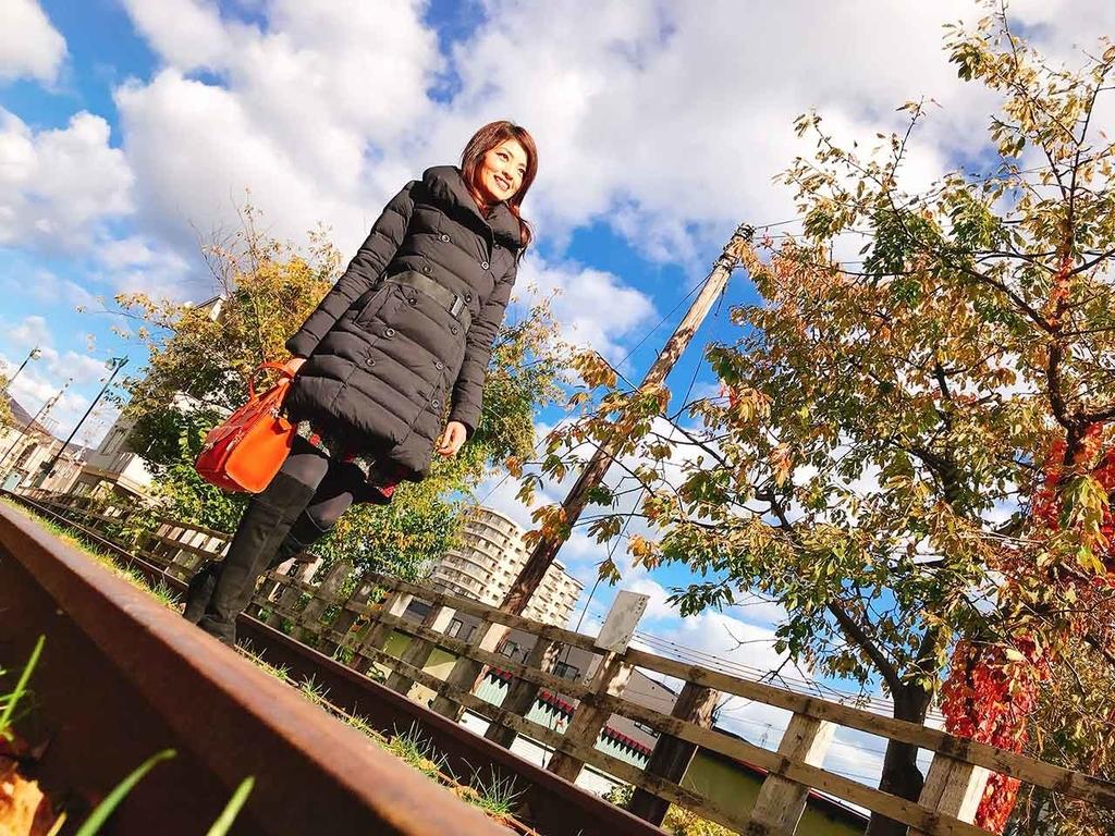 旧手宮線跡@小樽【適材適食】小園亜由美(管理栄養士・野菜ソムリエ上級プロ)