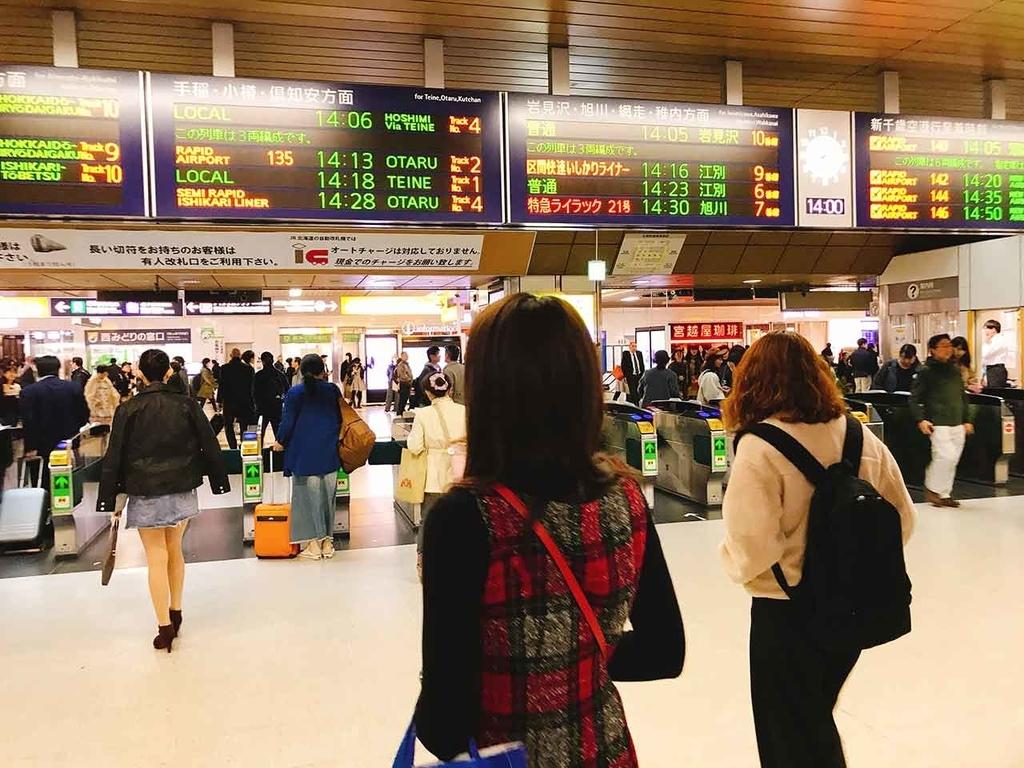 JR札幌駅【適材適食】小園亜由美(管理栄養士・野菜ソムリエ上級プロ)