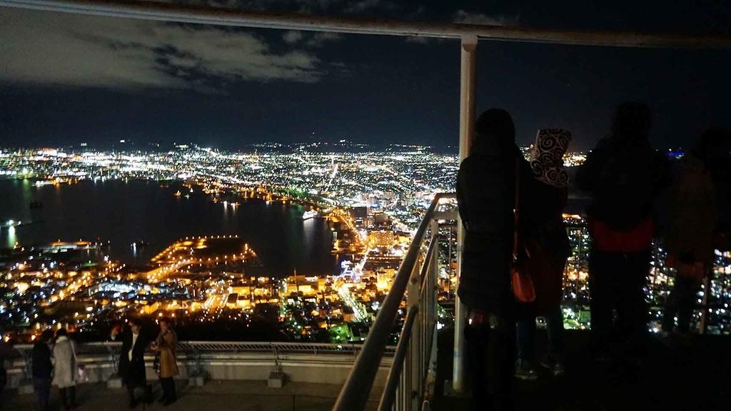函館山山頂からの夜景【適材適食】小園亜由美(管理栄養士・野菜ソムリエ上級プロ)