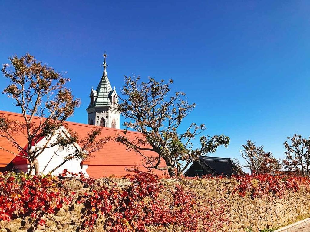 カトリック元町教会 函館ハリストス正教会 函館市旧イギリス領事館 旧函館区公会堂