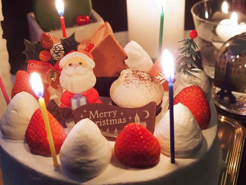 クリスマスケーキ@「カロリーが気になる人のクリスマス攻略法」糖尿病や脂肪・カロリーが気になるすべての人へ管理栄養士が教える上手な過ごしかた【適材適食】小園亜由美(管理栄養士・野菜ソムリエ上級プロ)