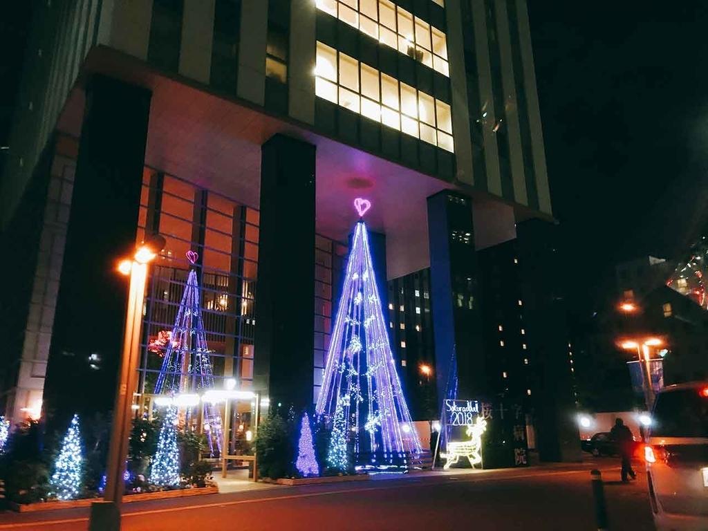 @「サンタが天神にやってきた」名付けて『クリスマスツリーハンター』2018年福岡・天神の『クリスマスツリー』を集めてみた【適材適食】小園亜由美(管理栄養士・野菜ソムリエ上級プロ)