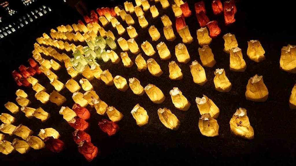 「うみなかクリスマスキャンドルナイト」海の中道でキャンドルアートと花火なクリスマスイヴ【適材適食】小園亜由美(管理栄養士・野菜ソムリエ上級プロ)