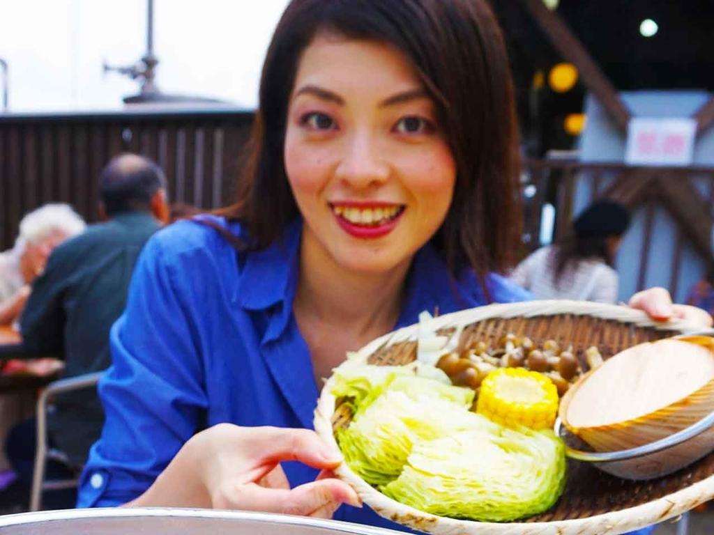 地獄蒸し@別府【適材適食】小園亜由美(管理栄養士・野菜ソムリエ上級プロ)