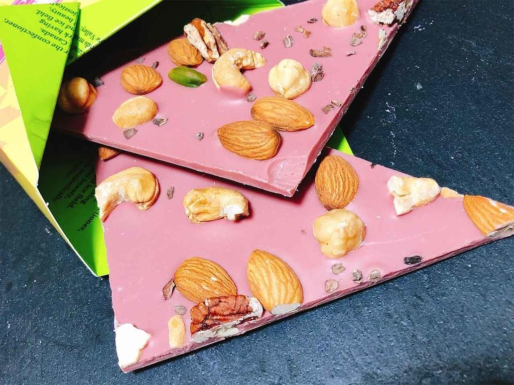 「『ルビー』色バレンタイン2019」約80年ぶりの新種、第4のチョコレート=【ルビーチョコレート】はピンク色で可愛くてとても美味しいので大注目★【適材適食】小園亜由美(管理栄養士・野菜ソムリエ上級プロ)