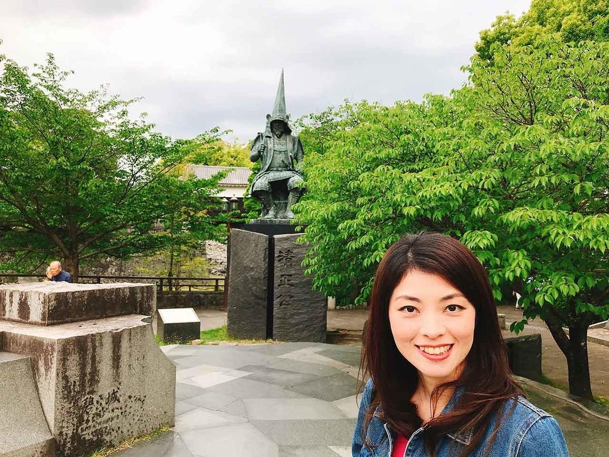 加藤清正公@GW「熊本城に今も残る震度7の爪痕」2016年4月から3年後