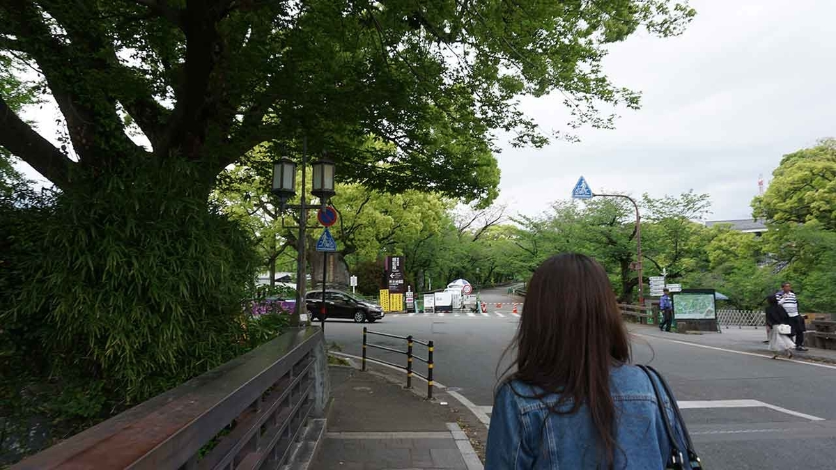 桜の馬場城彩苑@GW「熊本城に今も残る震度7の爪痕」2016年4月から3年後