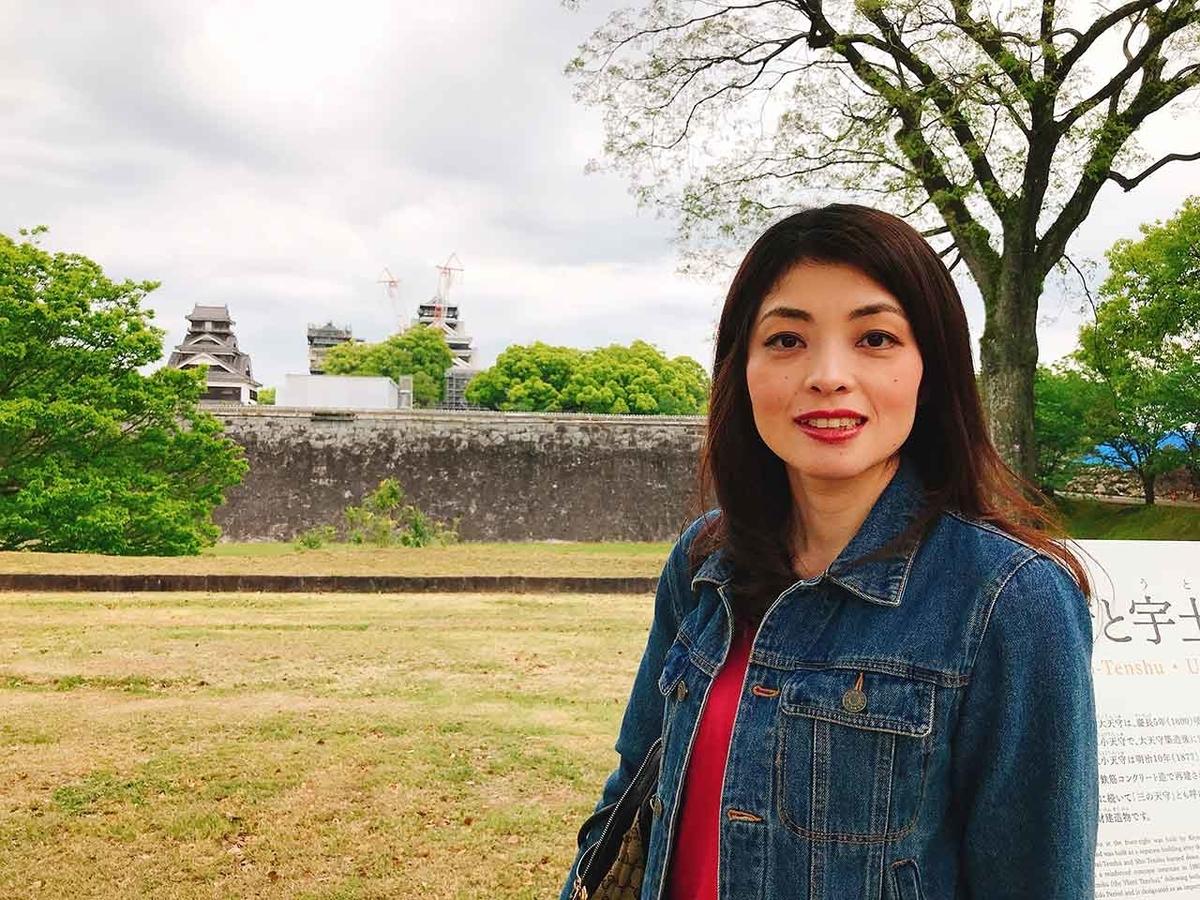 熊本城復元見学コース@「熊本城に今も残る震度7の爪痕」2016年4月から3年後