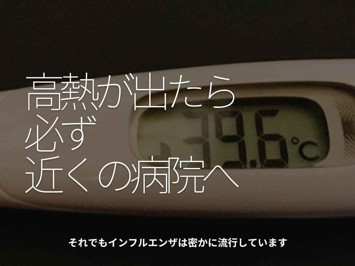 「高熱が出たら必ず近くの病院へ」それでもインフルエンザは密かに流行しています【適材適食】小園亜由美(管理栄養士・野菜ソムリエ上級プロ)