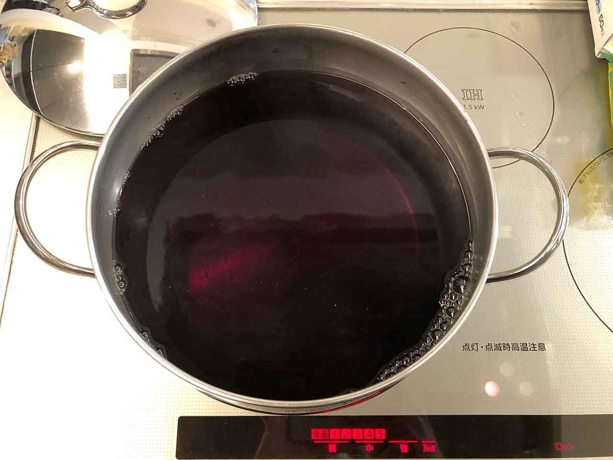 「旬の味。名付けて[ オイしそジュース ]を作ってみた。」赤じそジュースを作って飲んでみた。【適材適食】小園亜由美(管理栄養士・野菜ソムリエ上級プロ)
