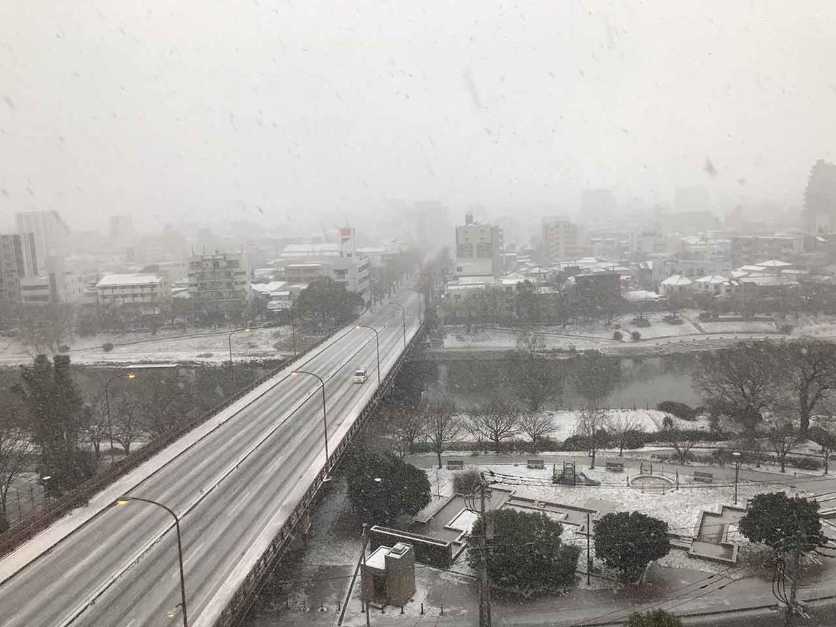 「ふくおかゆき」2021年1月7日、8日、9日の福岡の雪景色を集めてみた。それと寒い時に心配なことも。【適材適食】小園亜由美(管理栄養士・野菜ソムリエ上級プロ)糖尿病専門・甲状腺専門クリニック勤務@福岡姪浜・福岡天神