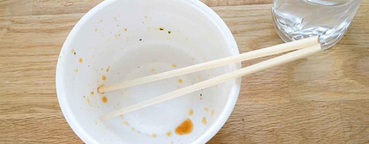 「カップ麺、食べた後どうしてる?」お片付けを考えてみよう。【適材適食】小園亜由美(管理栄養士・野菜ソムリエ上級プロ)糖尿病専門・甲状腺専門クリニック勤務@福岡姪浜・福岡天神