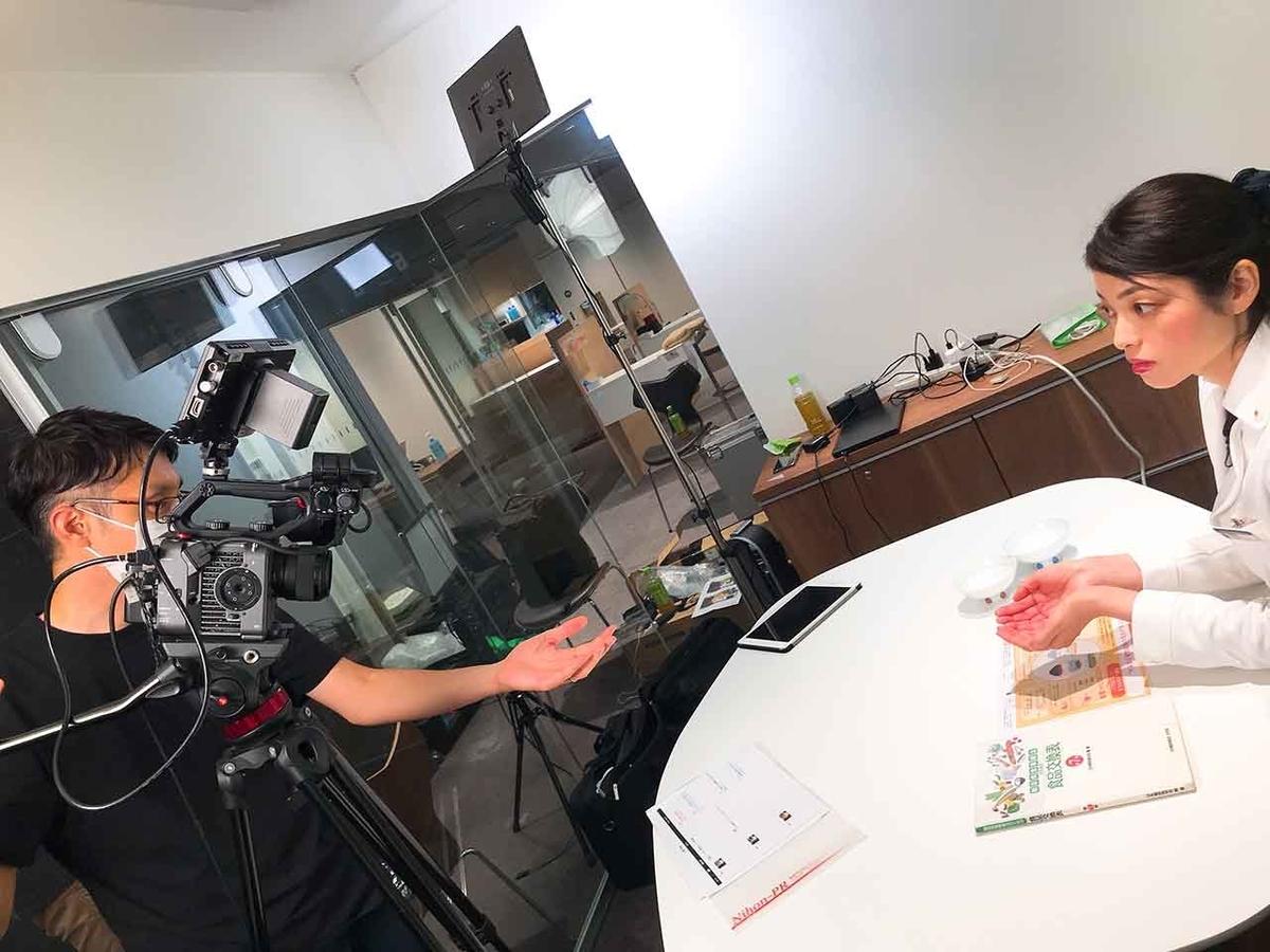 「個人栄養指導の動画、制作中」個人栄養指導についての動画を撮影しました!【適材適食】小園亜由美(管理栄養士・野菜ソムリエ上級プロ)糖尿病専門・甲状腺専門クリニック勤務@福岡姪浜・福岡天神