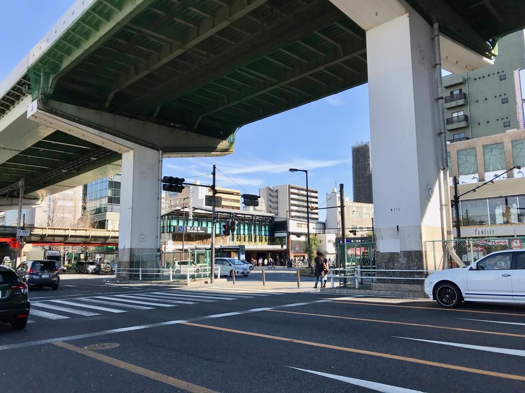 JR環状線森ノ宮駅外観