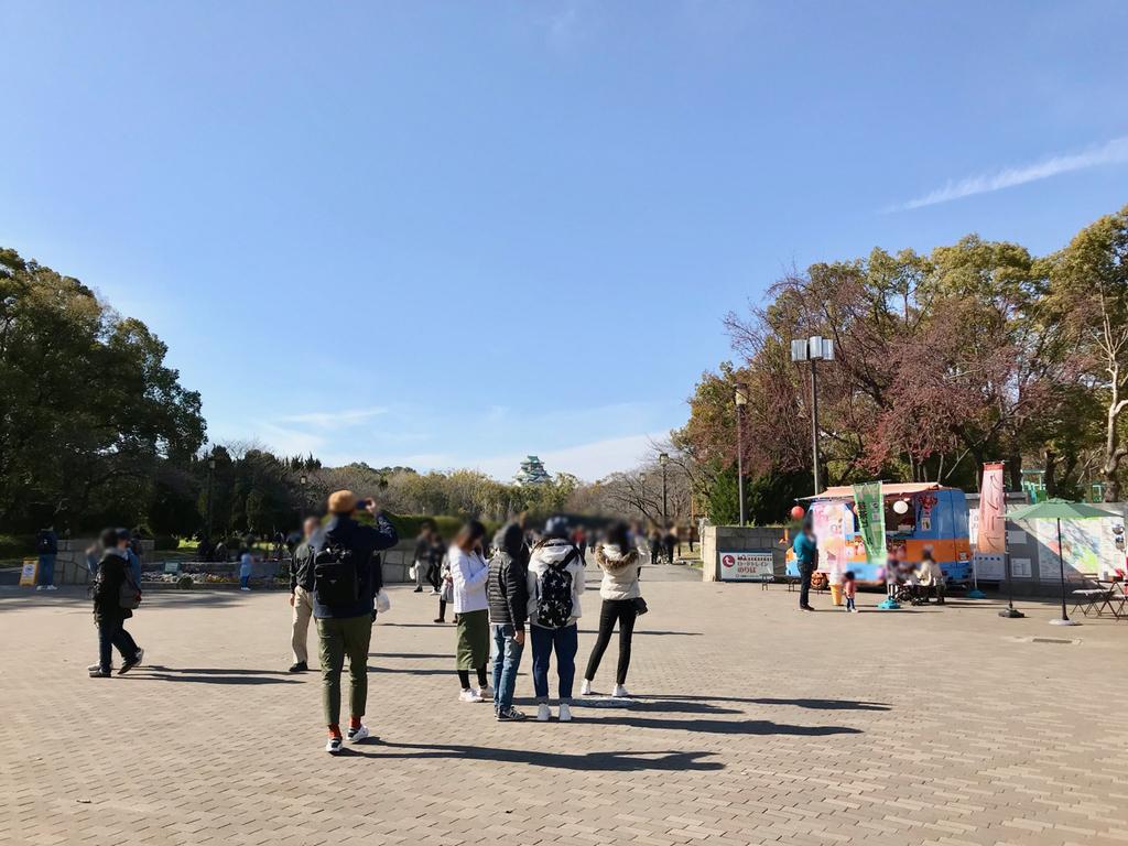大阪城公園・森ノ宮駅側入り口